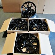 Fits Dodge Charger Challenger 300 20 Hellcat Style Wheels Gloss Black