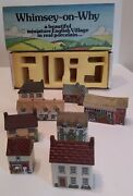 Wade Whimsey-on-why Mini Houses, Original Vintage Great Condition