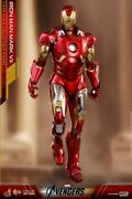 Hot Toys Iron Man Mark 7 Avengers Diecast Mms500-d27 1/6 Scale Toy Figure