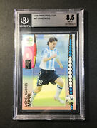 Lionel Messi 2006 Panini World Cup Germany Lionel Messi 47 Bgs 8.5 Nm-mt+