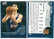 Yao Ming 2002-2003 Topps Chrome Rookie Rc 146 Error Card True 1/1andnbsp