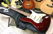 Fender Japan St62-dmc Stratocaster Old Caddy Apple Electric Guitar And Soft Case