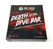 Hunt A Killer - Death At The Dive Bar - All-in-one Murder Mystery Game Euc