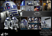 Hot Toys Star Wars R2-d2 Deluxe Version 1/6 Scale Collectible Figure With Box