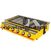 Commercial New 6 Head Gas-fired Grill Smokeless Barbecue Machine