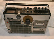 Vintage Jvc 3060 Am Fm Tv Variable Sound Monitor Boombox - Tv, Tape And Radio Work