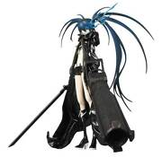 Medicom Toy Real Action Heroes 1/6 Black Rock Shooter Figure With Box