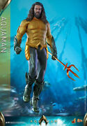 aquaman Movie Masterpiece 1/6 Hot Toys Figure With Box Shipped From Japan