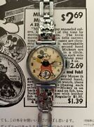 Disney Ingersoll 1933 Mickey Mouse First Watch Original Shipped From Japan