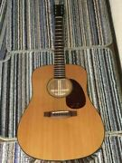 zenn Zd24 6 String Natural Acoustic Guitar S/n 10032524 Shipped From Japan