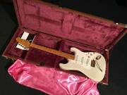 Fender Stratocaster St54 Blonde Electric Guitar With Hard Case Made In Japan