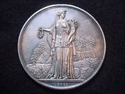 1859 New York State Agricultural Society Engraved Award Medal, Julian Am-61