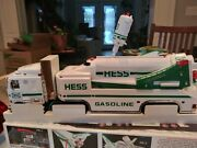1999 Toy Hess Truck And Space Shuttle With Satelliteandnbsp New In Box