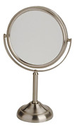 Jerdon Jp910nb 6-inch Tabletop Two-sided Swivel Vanity Mirror With 10x 11-inch