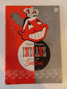 1949 Cleveland Indians Sketch Book / Year Book Yearbook