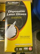 Lot Of 10 Boxes 100ct Roadmaster Latex Gloves, Xlarge