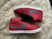 Size 10 - Nike Sb Blazer X Supreme Varsity Red 2006 Authentic With Laces