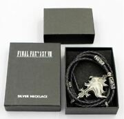 ​square Ffvii Final Fantasy Vii Sleeping Lion Heart Silver 925 Necklace Pendant
