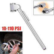 1pc Pen Style Car Suv Truck Tire Pressure Gauge 10-110 Psi Air Meter Stretchable