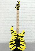ltd By Esp Gl-200mt George Lynch Signature Yellow Electric Guitar Japan Shipped