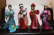 historical Drama Four Beauties Ancient China Figure With Box Shipped From Japan