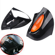 Motorcycle Left Right Rear View Mirror Black Abs Shell For Bmw R1100 Rtp R1 Usa