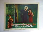 Vincent Price/house On Haunted Hill/ul3/ Original Lobby Card 8