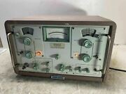 Sierra Electronic Division Of Philco Frequency Selective Voltmeter 128a Rare
