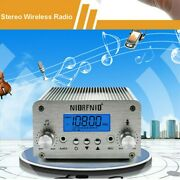 1w/6w Pll Fm Wireless Transmitter Revicer System Antenna Broadcast For Education