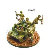 28mm Bolt Action British Airborne Universal Carrier Vignette Painted By Fowabs