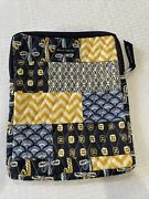 Bella Taylor Blue Multi-design Quilted Tablet Ipad Case Cover Zip Up Pouch