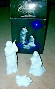 Vintage Nativity Collectibles Holy Family Three Porcelain Figurines