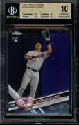 2017 Topps Chrome Aaron Judge 169 Bgs 10 Pristine Rc Card Rookie Nyy Yankees