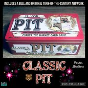 1998 Pit Classic Vintage Card Game With Metal Tin And Bell - Corner The Market