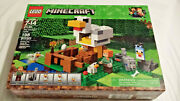 New Sealed Lego Minecraft The Chicken Coop 21140 Building Kit - 198 Pieces