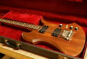 Rare Vintage 1980 Old Bc Rich Mocking Bird With Original Hard Case[made In Usa]
