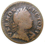 1788 Rr-17 Vermont Colonial Copper Coin