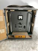 Vintage Muirhead Phasemeter Supply Unit D-729-bs/100 W/ Crate Old Army Navy Rare