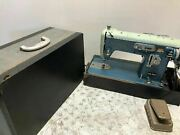 Vintage Reliable De Luxe 100 Zig Zag Sewing Machine Made In Japan Unique Rare