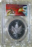 2019 5 Pcgs Pr70 First Strike 2 Silver Coins Pride Of Two Nations Error 50 Pop