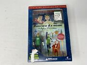 Justice League The New Frontier Dvd W/green Lantern Figurine Dc Best Buy New