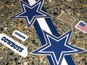 Dallas Cowboys Navy And White Star Football Helmet Decal Set Full Size 3m 20mil