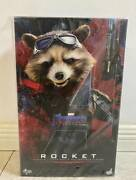 Hot Toys Marvel Avengers Endgame Rocket Mms548 1/6th Scale Collectible Figure