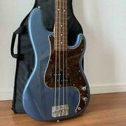 fender 2006-2008 Precision Electric Bass Guitar And Gig Case Sn S083317
