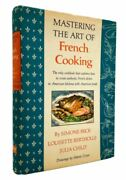 Mastering The Art Of French Cooking By Julia Child 1st Edition Signed
