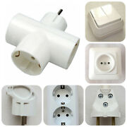 Electrical Plug Outlet Light Switch Electric Adapter Button For Bell Power Cord