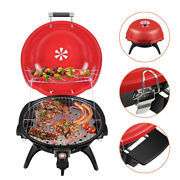 Electric Bbq Grill Indoor Outdoor Picnic Party Camping Roasting Barbecue Grill