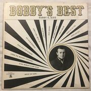 Bobby Rice - Bobbyand039s Best In Nashville Rare Country Lp - Jo-cur Records Signed