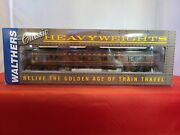 Walthers Classic Heavyweights 932-10254 Pullman 3-2 Lounge-obs Plan3959d Prr