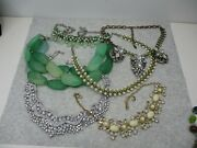 Vintage To Modern Jewelry Lot Necklace Crafts Assorted Styles 1 Lb 2 Oz
